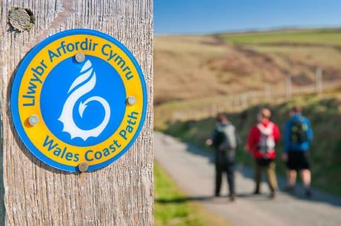 Itinerari a piedi lungo la costa del Galles