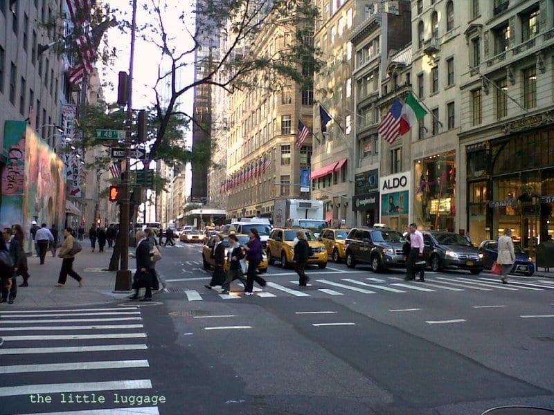 I posti migliori dove fare shopping a new york for Dove soggiornare a new york
