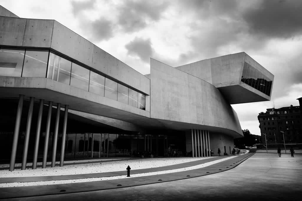 Architettura maxxi tempio romano dell 39 arte contemporanea for Nuova architettura in inghilterra