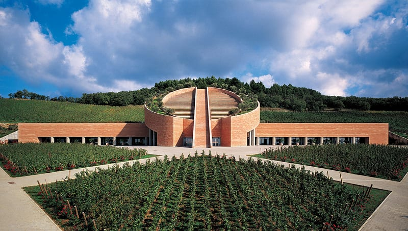 Perle di architettura la cantina petra un gioiello toscano for Nuova architettura in inghilterra