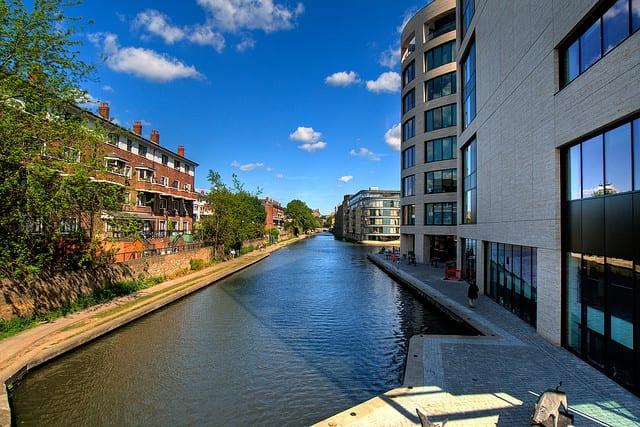 Alla scoperta di londra lungo il regent s canal for Nuova architettura in inghilterra
