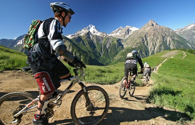 Les Deux Alpes: la capitale francese dello sci e della mountain bike