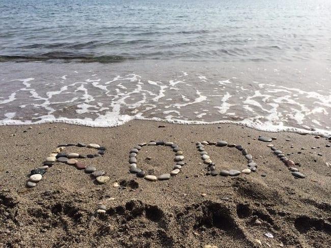 Il sud di Rodi: Haraki, una spiaggia perfetta per lo snorkeling
