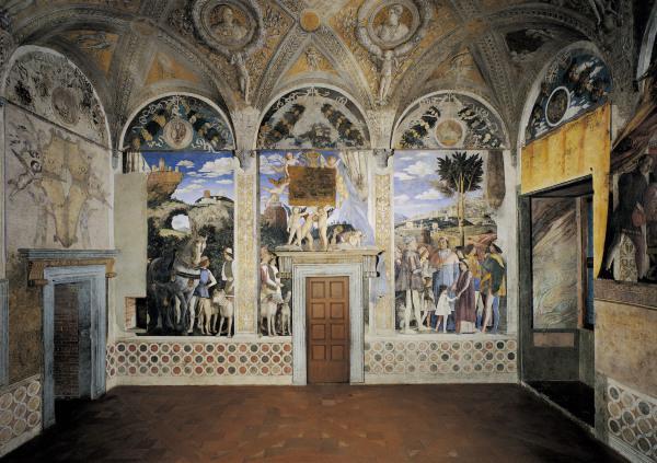 Alla scoperta di mantova e di andrea mantegna for Mantova camera sposi