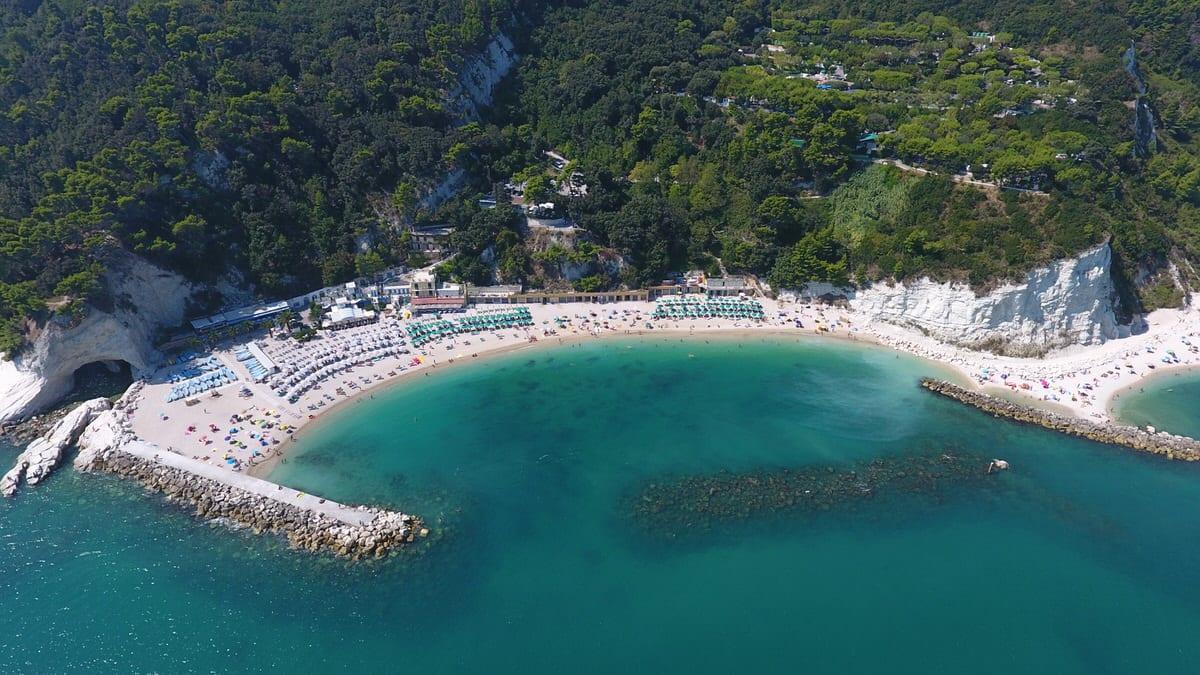 Video della Spiaggia Urbani, Riviera del Conero