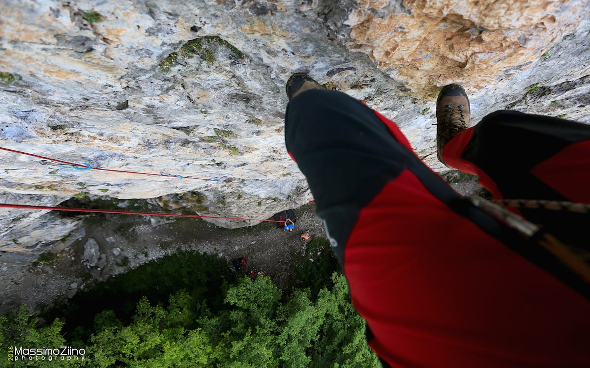 Falesia del Ginetto: in arrampicata sulle cime che incorniciano il Lago d'Iseo
