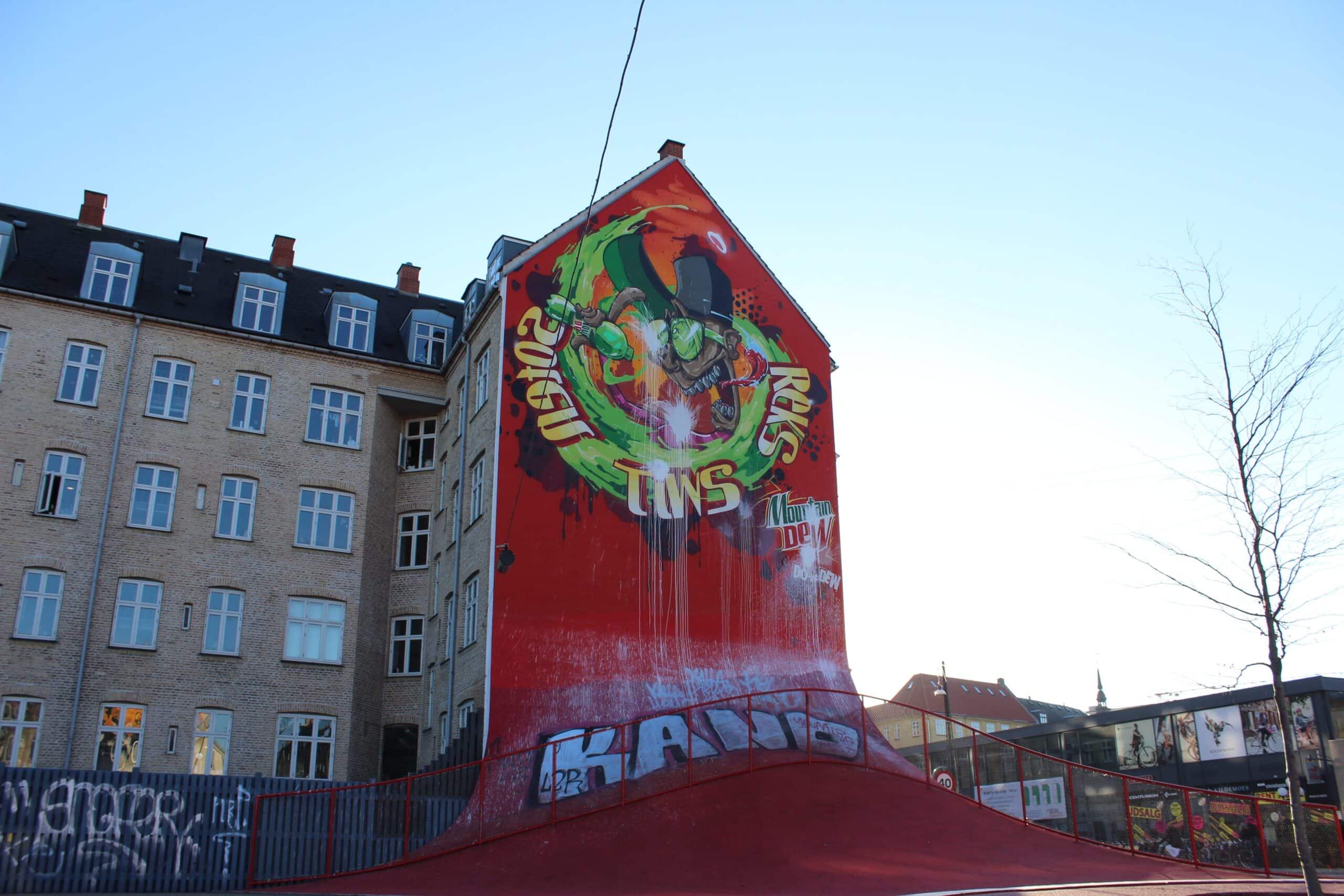 """Nørrebro, il distretto più """"cool"""" della capitale danese."""